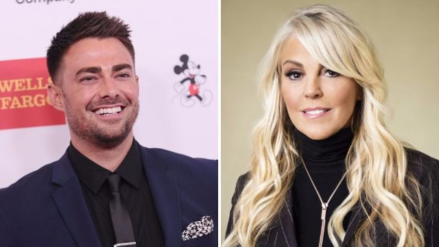 Celebrity Big Brother fans want Jonathan Bennett and Dina Lohan to form alliance as they dart to each other at launch