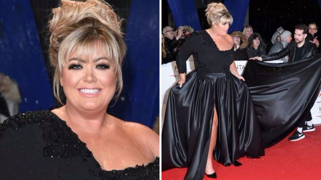 Coleen Nolan reveals Gemma Collins had the most extra wardrobe mishap on the NTAs red carpet