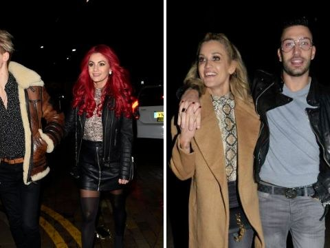 Strictly's Joe Sugg and Dianne Buswell enjoy romantic night with Ashley Roberts and Giovanni Pernice