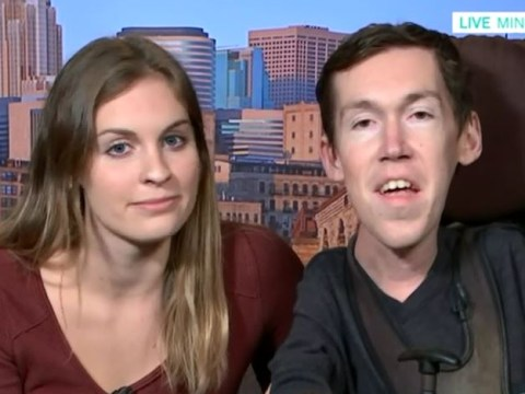 Disabled man in relationship with able-bodied woman recalls how someone 'prayed over' them on first date