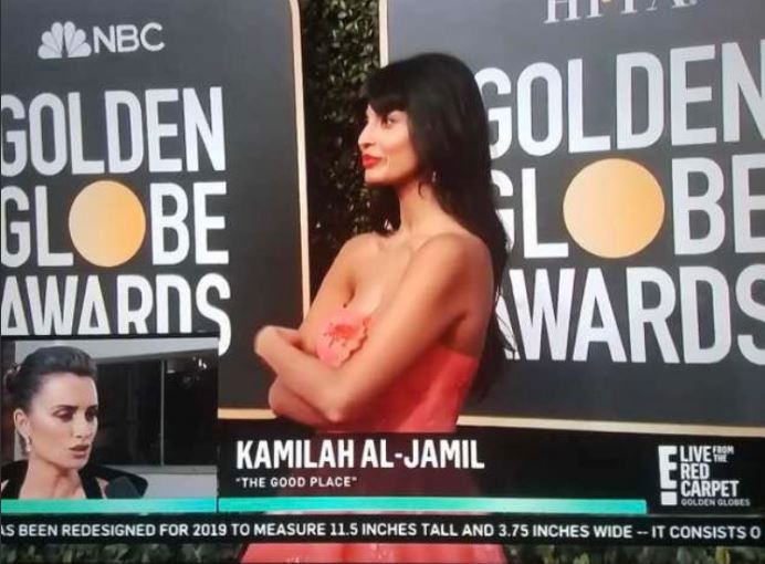 Jameela Jamil was mistaken for The Good Place's Kamilah at Golden Globes and Tahani will be fuming