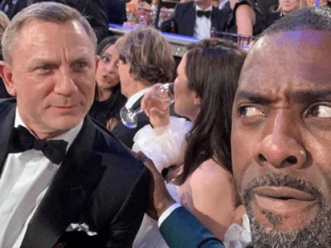 Daniel Craig and Idris Elba square up in epic selfie amid Bond rumours at Golden Globes 2019