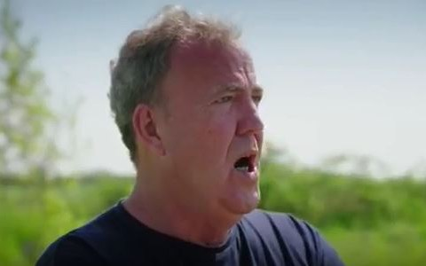 Jeremy Clarkson unimpressed as he's deprived of booze and forced to 'sleep rough' filming The Grand Tour season 3