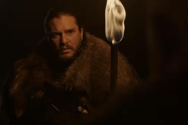 Jon Snow in Game of Thrones s8 teaser