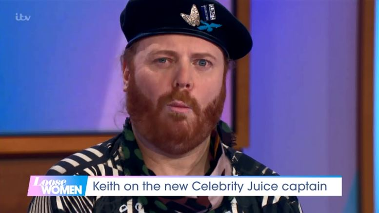 Keith Lemon dodges questions about Fearne Cotton's replacement on Celebrity Juice