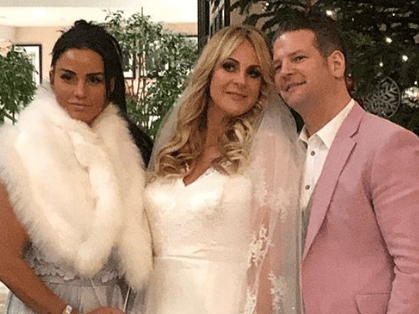 Katie Price praised for buying her best friend a wedding dress amid financial troubles