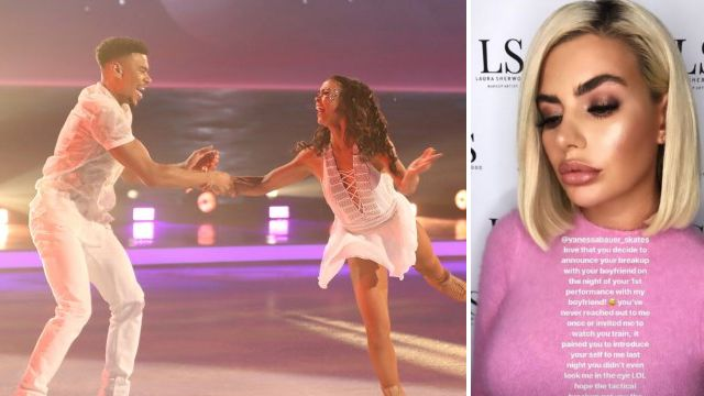 Megan Barton-Hanson slams Vanessa Bauer for announcing split after first DOI performance with Wes Nelson