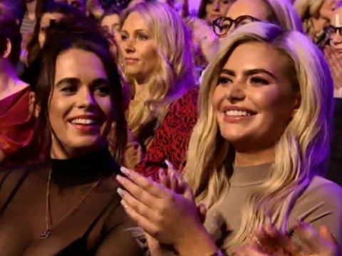Megan Barton-Hanson cheers on ex-boyfriend Wes Nelson on Dancing On Ice a day after announcing split