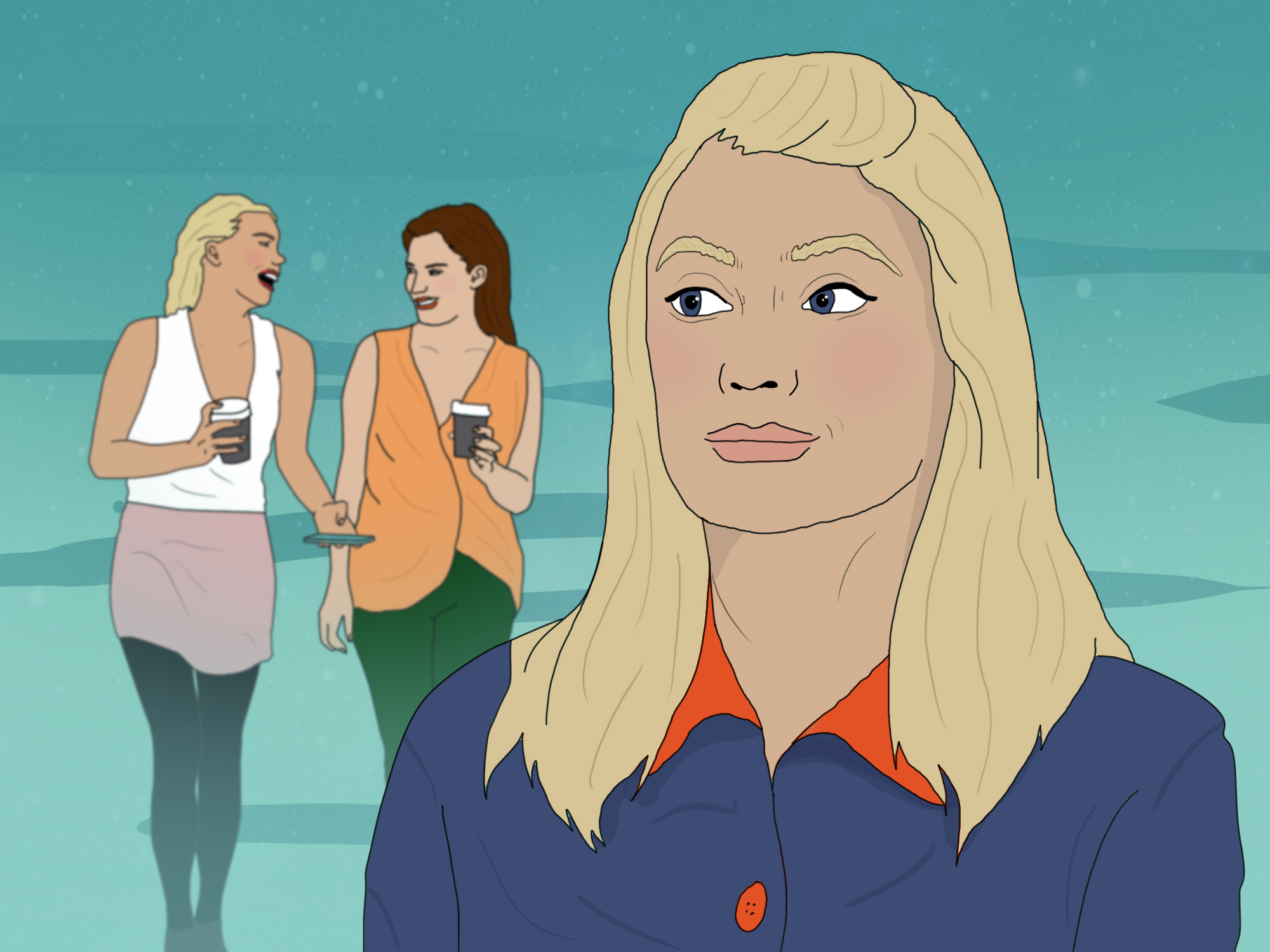 modern etiquette: I don't want to hang out with people from work