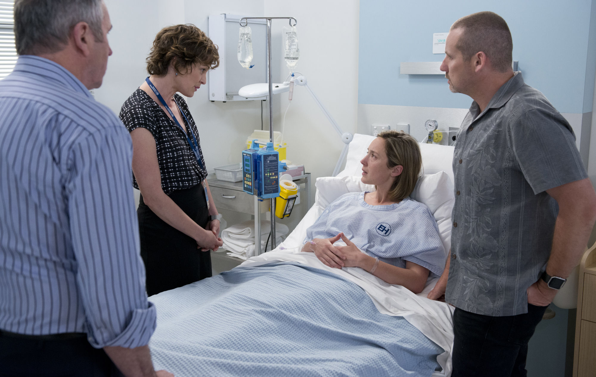 Toadie is struggling with Sonya's diagnosis