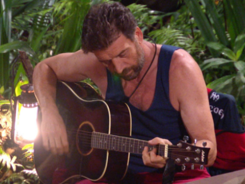 Nick Knowles reveals staged I'm A Celebrity scenes as bosses urged him to play guitar