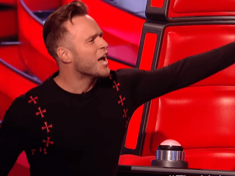 Olly Murs refuses to say The X Factor on The Voice UK before performing his audition song