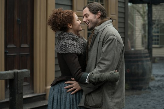 Brianna and Roger in Outlander series 4
