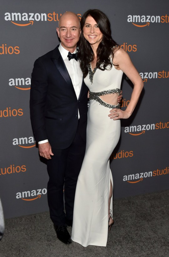 Jeff Bezos and MacKenzie Bezos: Amazon Golden Globes After Party, Arrivals, Los Angeles, USA - 08 Jan 2017 Mandatory Credit: Photo by Andrew H. Walker/Variety/REX/Shutterstock (7734816cx)