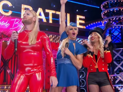 Queer Eye cast transform into Britney Spears and Beyonce for incredible Lip Sync Battle