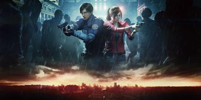 a still from Resident Evil 2
