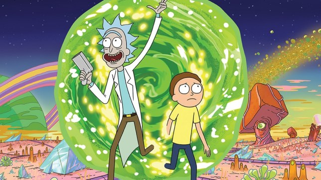 Image result for rick and morty portal
