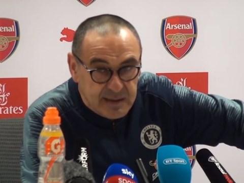 David Luiz understands Maurizio Sarri's furious rant after Arsenal defeat