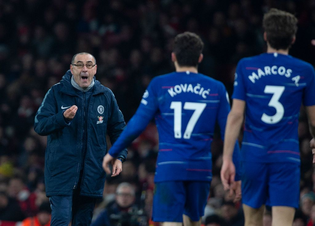 Chelsea squad questioning Maurizio Sarri's use of Eden Hazard after Arsenal defeat