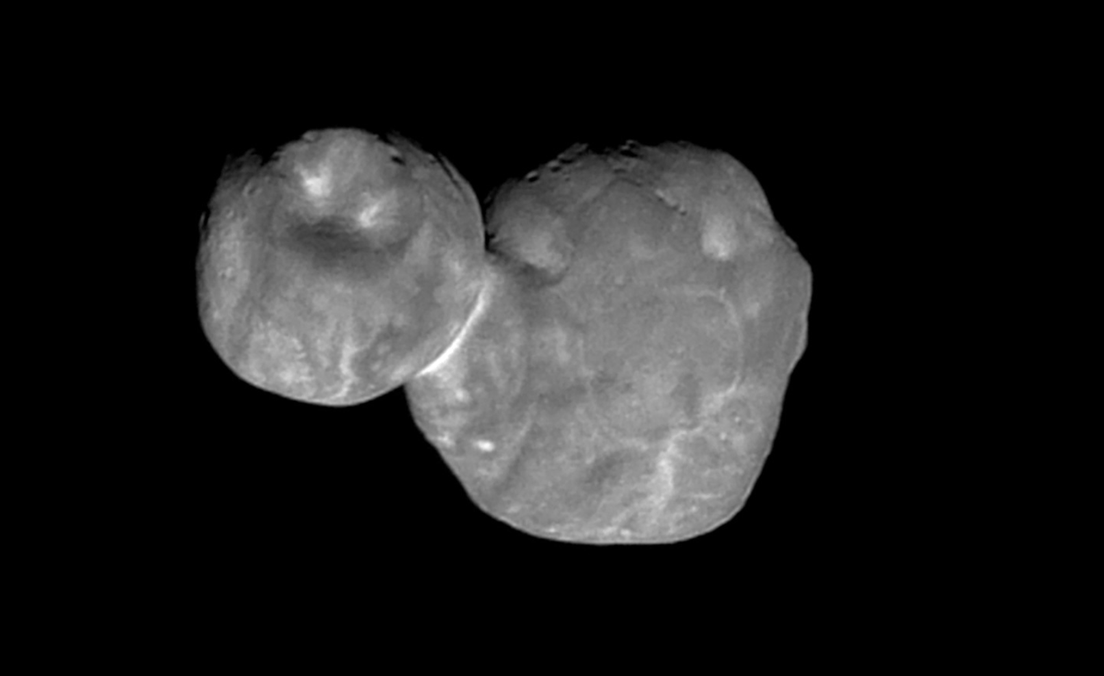 Nasa reveals best ever picture of mysterious 'Nazi dwarf planet' Ultima Thule