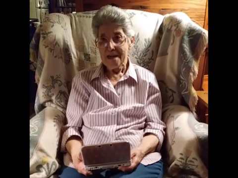 87-year-old grandma plays Animal Crossing for 3,500 hours – still hasn't caught all the fish