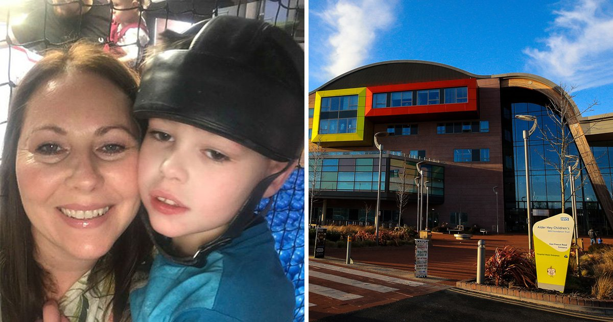 Mum angry at hospital for refusing to fund epileptic son's cannabis treatment