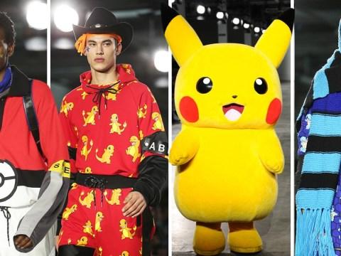 Pokemon becomes high fashion at London Fashion Week Men's show