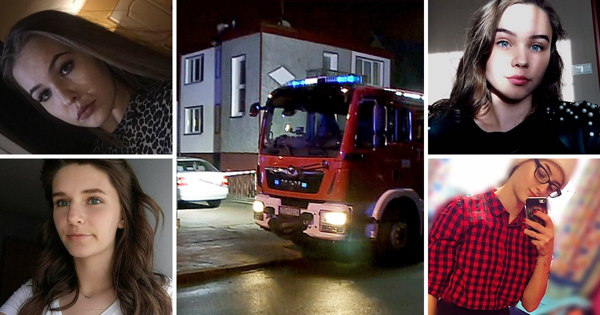 Schoolgirls killed after getting trapped in Escape Room fire pictured