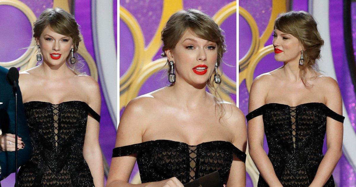 Taylor Swift slips into Golden Globes 2019 after avoiding red carpet with boyfriend Joe Alwyn