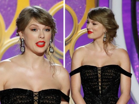 Taylor Swift slips into Golden Globes 2019 after avoiding red carpet with boyfriend Joe Alwyn
