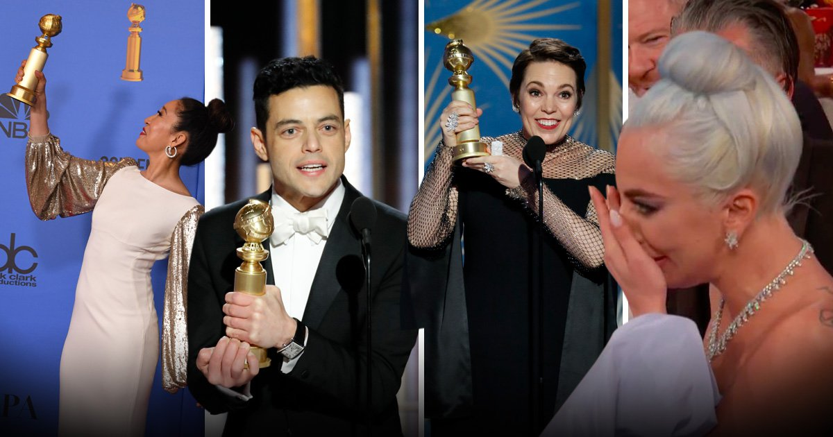 A Star Is Born and Lady Gaga fail to win big at Golden Globes 2019 in biggest snub of the night