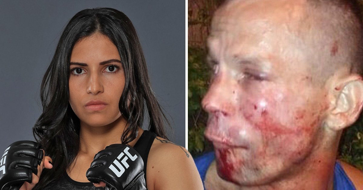 Robber left bloodied and bruised by UFC fighter Polyana Viana