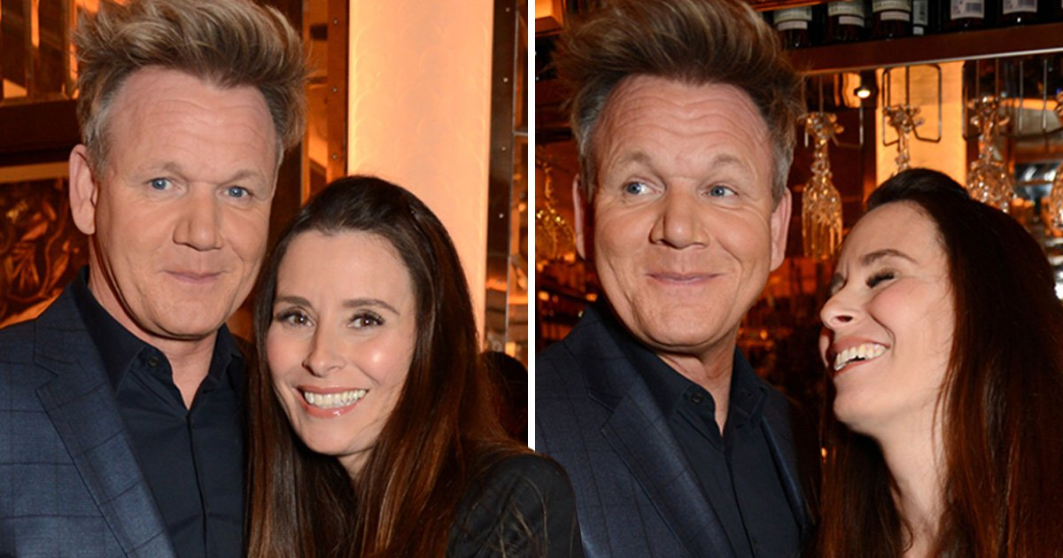 Gordon Ramsay cradles pregnant wife Tana's baby bump as they party with Victoria and David Beckham