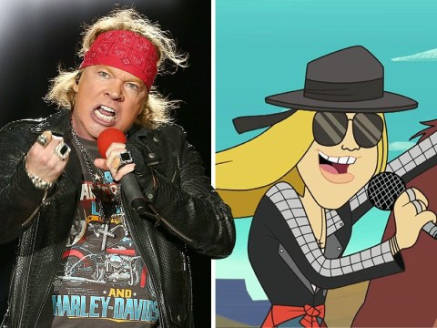 Axl Rose drops first single in 11 years and he swaps Guns N' Roses for the Looney Tunes