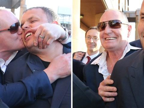 Paul Gascoigne denies sexual assault by kissing woman on a train
