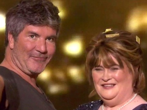Simon Cowell has beautiful message for Susan Boyle on America's Got Talent: The Champions and our aching hearts can't cope