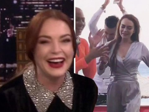 Lindsay Lohan finally reveals the story behind that dance: 'It's so embarrassing to me'