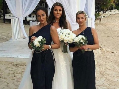 Vicky Pattison accused of blocking the bride as she stands in front of sister on wedding day