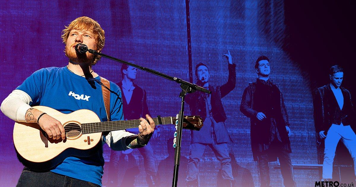 Ed Sheeran writes 'feel-good love song' Anywhere for Westlife's comeback album