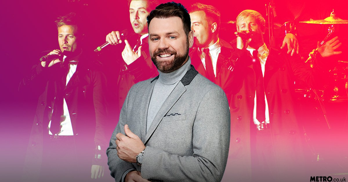 Westlife admit it would be 'weird' if Brian McFadden joined them on tour 15 years after he quit