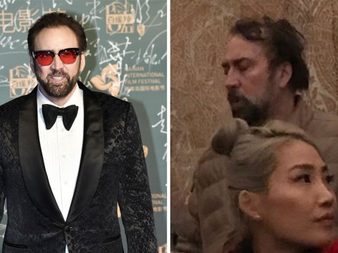 Nicolas Cage sends internet into meltdown as he's spotted at Vatican and is oblivious over Into The Spiderverse Golden Globe win