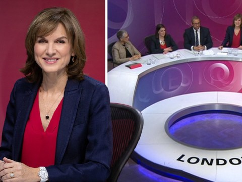 Fiona Bruce praised for tough grilling of politicians on Question Time debut