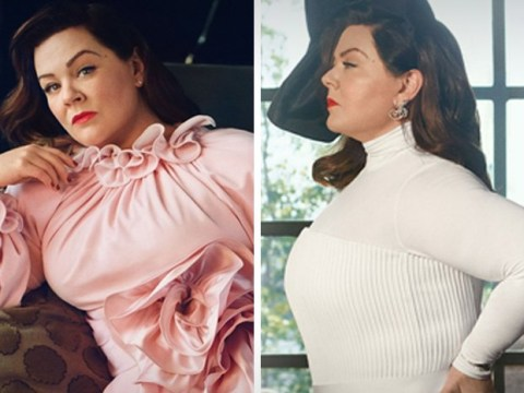 Melissa McCarthy looks regal as she calls out interviewer who asked about her 'tremendous size'