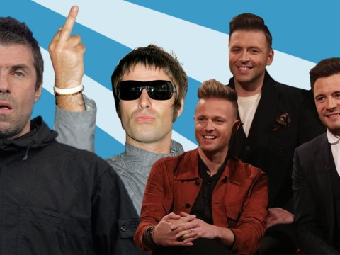 Westlife meeting Liam Gallagher went exactly as you're imagining Westlife meeting Liam Gallagher would go down: 'F off!'