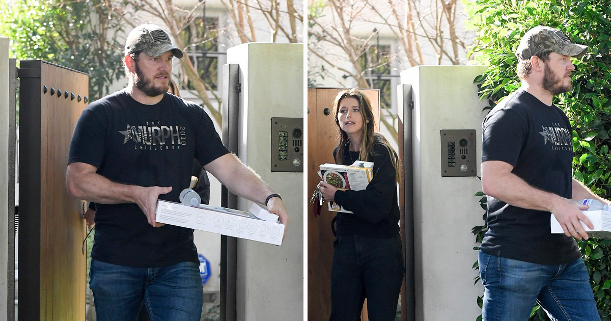 Chris Pratt helps girlfriend Katherine Schwarzenegger pack amid rumours they're moving in together