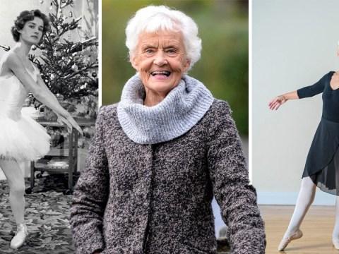 Meet Britain's oldest ballerina as she celebrates her 81st birthday