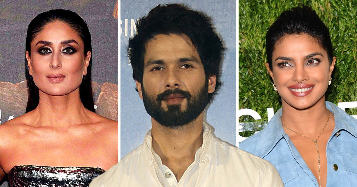 Shahid Kapoor reveals which ex he'd like to forget – Priyanka Chopra or Kareena Kapoor Khan