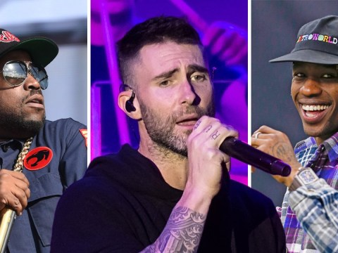 Maroon 5, Travis Scott and Big Boi confirmed for NFL Super Bowl half-time show