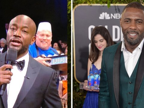 Is Joey's Burgers Guy from Critics' Choice Awards the new Fiji Water Girl?