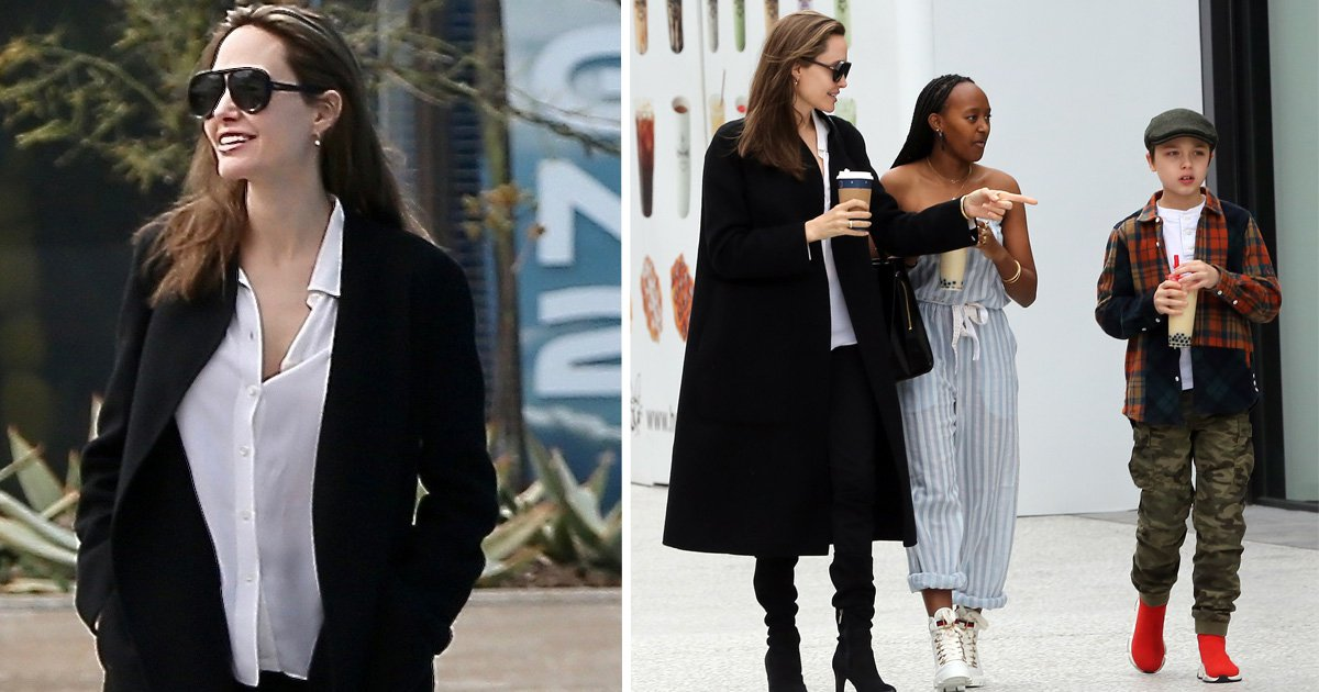 Angelina Jolie and Brad Pitt's kids unleash their creative side in fun-filled Sunday outing